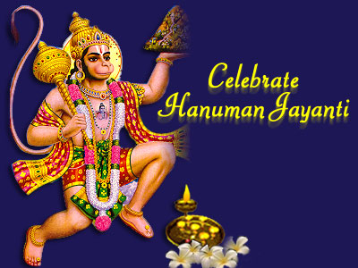 image of god hanuman ji. Hanuman Jayanti is celebrated to commemorate the birth of Hanuman Ji,
